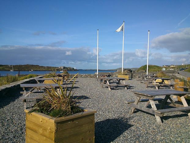 The Beach, Days Bar and B&B, Inishbofin Beer Garden2